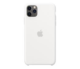 Etui / obudowa na smartfona Apple Silicone Case do iPhone 11 Pro Max White
