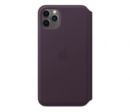 Etui / obudowa na smartfona Apple Leather Folio do iPhone 11 Pro Max Aubergine