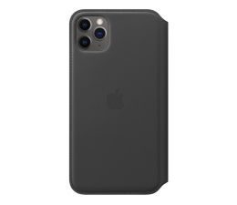 Etui / obudowa na smartfona Apple Leather Folio do iPhone 11 Pro Max Black