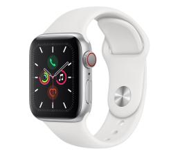 Apple Watch 5 40/Silver Aluminium/White Sport LTE