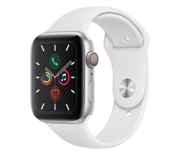 Smartwatch Apple Watch 5 44/Silver Aluminium/White Sport LTE