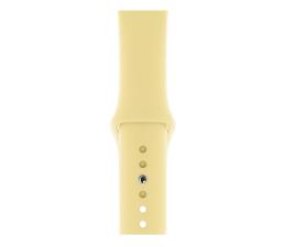 Pasek / bransoletka Apple Pasek Sportowy do Apple Watch krem cytrynowy