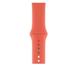 Pasek / bransoletka Apple Pasek Sportowy do Apple Watch mandarynkowy