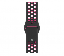 Pasek/bransoletka Apple Pasek sportowy Nike czarno różowy 40 mm