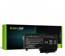 Bateria do laptopa Green Cell Bateria do Toshiba (2838 mAh, 14.4V, 14.8V)