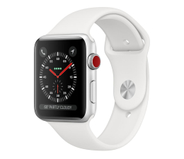 Smartwatch Apple Watch 3 38/Silver/White Sport LTE