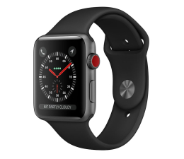Smartwatch Apple Watch 3 42/Space Gray/Black Sport LTE