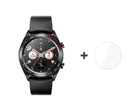 Smartwatch Honor Watch Magic czarny + 3mk Flexible Glass