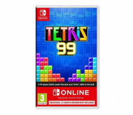 Gra na Switch Switch Tetris 99 + NSO