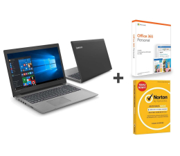 "Notebook / Laptop 15,6"" Lenovo Ideapad 330-15 i3/8GB/240/Win10 + Office + Norton"