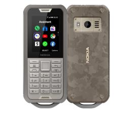 Smartfon / Telefon Nokia 800 Tough Dual SIM Pustynny Szary