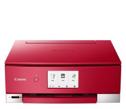 Urządzenie wiel. atramentowe Canon PIXMA TS8352 czerwona