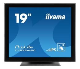 """Monitor LED 21"""" i mniejszy iiyama T1932MSC-B5X dotykowy"""