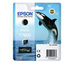 Tusz do drukarki Epson T7608 matte black 25,9ml 1100str.