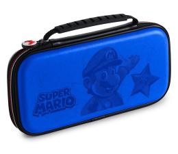Obudowa/naklejka na konsolę BigBen SWITCH Etui na konsole SUPER MARIO - niebieskie