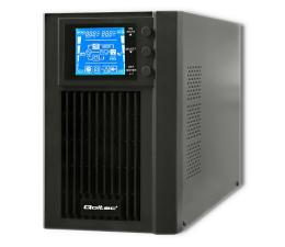 Zasilacz awaryjny (UPS) Qoltec Monolith (1000VA/800W, FR, Schuko, USB, LCD)