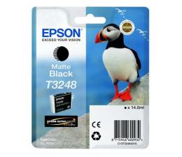 Tusz do drukarki Epson T3248 matte black 650str.