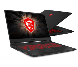 "Notebook / Laptop 17,3"" MSI  GL75 i7-9750H/16GB/256+1TB GTX1660Ti 120Hz"