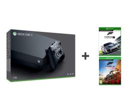 Konsola Xbox Microsoft Xbox One X 1TB+ FORZA H4 + Motosport 7