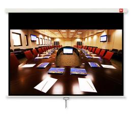 Ekran projekcyjny Avtek Ekran ręczny 135' 280x200 16:9 Biały Matowy