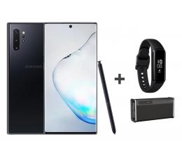 Smartfon / Telefon Samsung Galaxy Note 10+ black +Creative iRoar Go+ Fit e