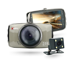 "Wideorejestrator Xblitz DUAL CORE Full HD/3""/170 +Tył 720P/120"