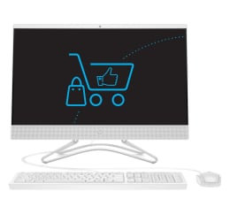 All-in-One HP 24 AiO J4005/8GB/256 IPS white