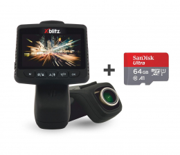 """Wideorejestrator Xblitz X5 FullHD/2.45""""/140/Wi-Fi + 64GB"""