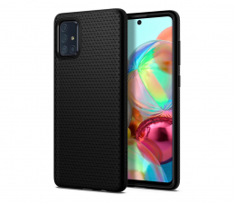 Etui / obudowa na smartfona Spigen Liquid Air do Samsung Galaxy A71 czarny