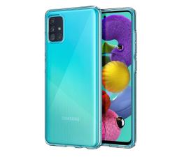 Etui / obudowa na smartfona Spigen Liquid Crystal do Samsung Galaxy A51 Clear