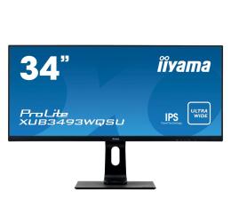 """Monitor LED 32"""" i większy iiyama XUB3493WQSU-B1"""