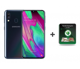 Smartfon / Telefon Samsung Galaxy A40 SM-A405FN Black + Navitel