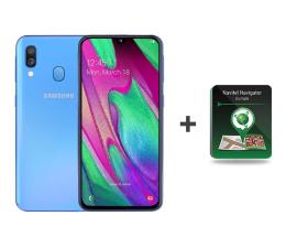 Smartfon / Telefon Samsung Galaxy A40 SM-A405FN Blue + Navitel