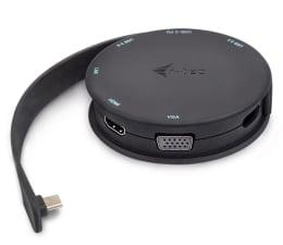 Stacja dokująca do laptopa i-tec USB-C Pocket Dock HDMI/VGA, Power Delivery 85W