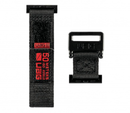 Pasek / bransoletka UAG Pasek Nylon Active do Apple Watch 42/44 mm Black