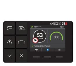 Antyradar samochodowy Yanosik Antyradar Yanosik GTR