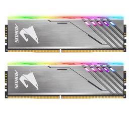 Pamięć RAM DDR4 Gigabyte 16GB (2x8GB) 3200MHz CL16 Aorus Silver RGB