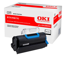 Toner do drukarki OKI 45439002 black 36000 str.