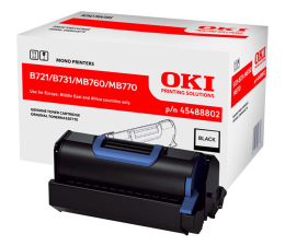 Toner do drukarki OKI 45488802 black 18000 str.
