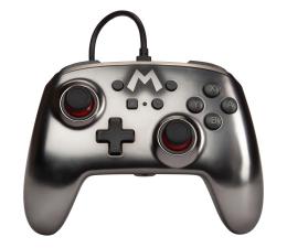 Pad PowerA SWITCH Pad przewodowy Super Mario Silver