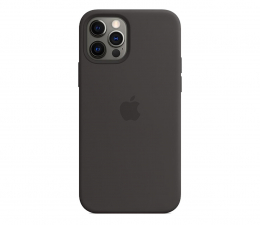 Etui / obudowa na smartfona Apple Silikonowe etui iPhone 12|12Pro czarne