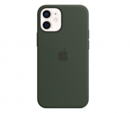 Etui / obudowa na smartfona Apple Silikonowe etui iPhone 12 mini cypryjska zieleń