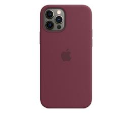 Etui / obudowa na smartfona Apple Silikonowe etui iPhone 12|12Pro dojrzała śliwka