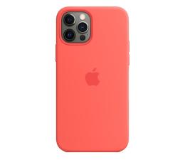 Etui / obudowa na smartfona Apple Silikonowe etui iPhone 12|12Pro różowy cytrus