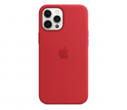 Etui / obudowa na smartfona Apple Silikonowe etui iPhone 12 Pro Max (PRODUCT)RED