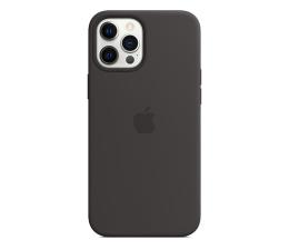 Etui / obudowa na smartfona Apple Silikonowe etui iPhone 12 Pro Max czarne