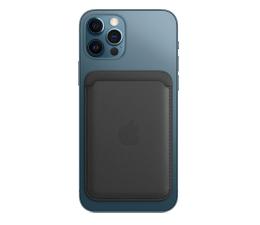 Etui / obudowa na smartfona Apple Skórzany portfel iPhone 12 czarny