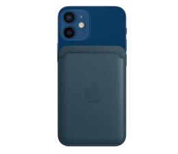 Etui / obudowa na smartfona Apple Skórzany portfel iPhone 12 bałtycki błękit