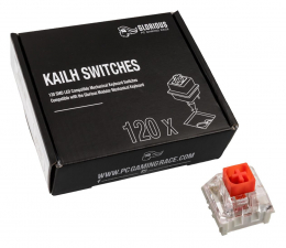 Przełączniki do klawiatury Glorious PC Gaming Race Kailh Box Red Switches (120 szt.)