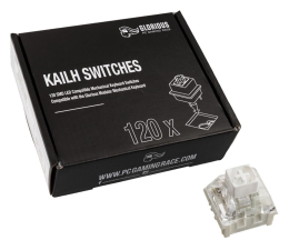 Przełączniki do klawiatury Glorious PC Gaming Race Kailh Box White Switches (120 szt.)